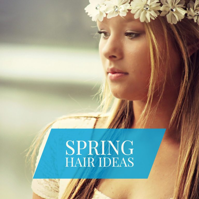 spring hairstyles and spring hair tips