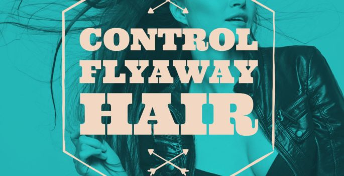 control flyaways and eliminate static in hair