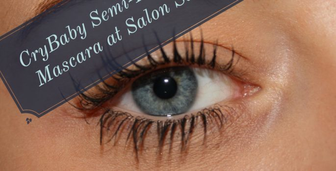 Cry Baby Semi-Permanent Mascara at Salon Salon