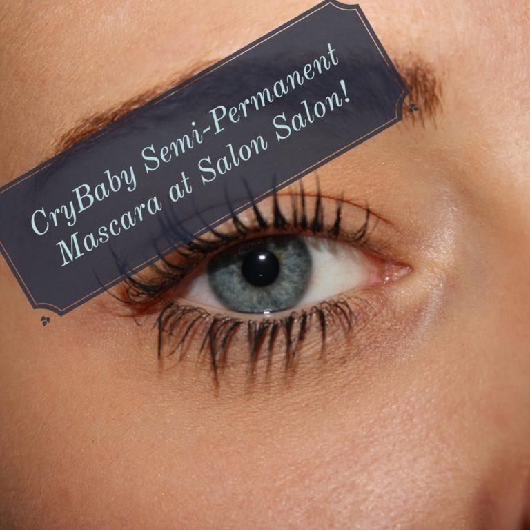 Cry Baby Semi-Permanent Mascara at Salon Salon