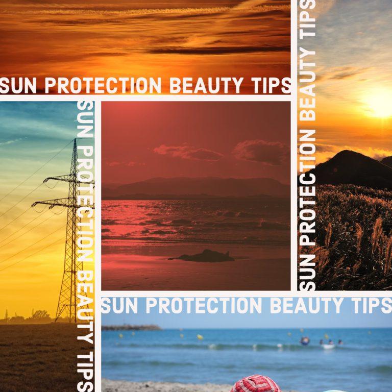 sun protection hair tips
