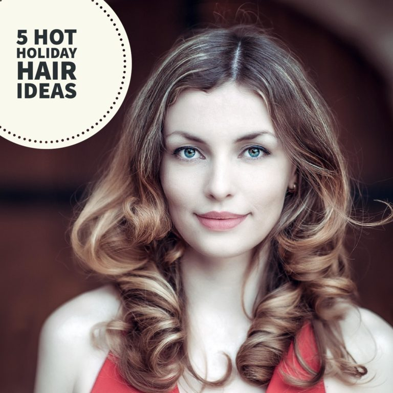 special holiday hairstyles and holiday hair tips